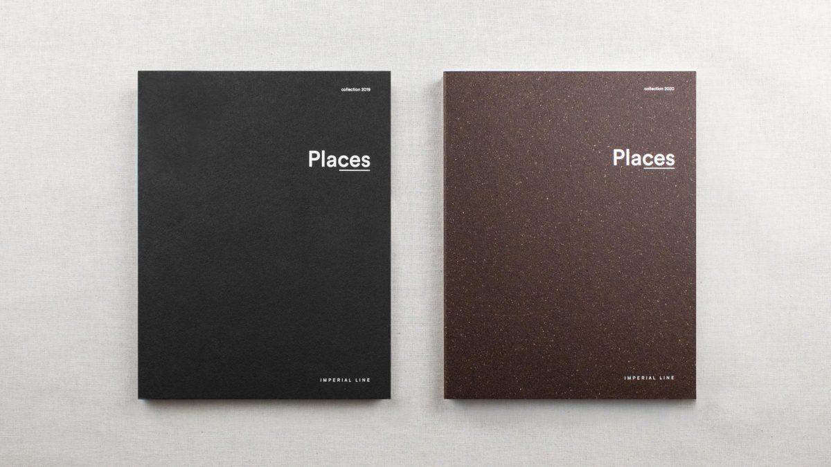 Copertine dei cataloghi Places 2019 e Places 2020