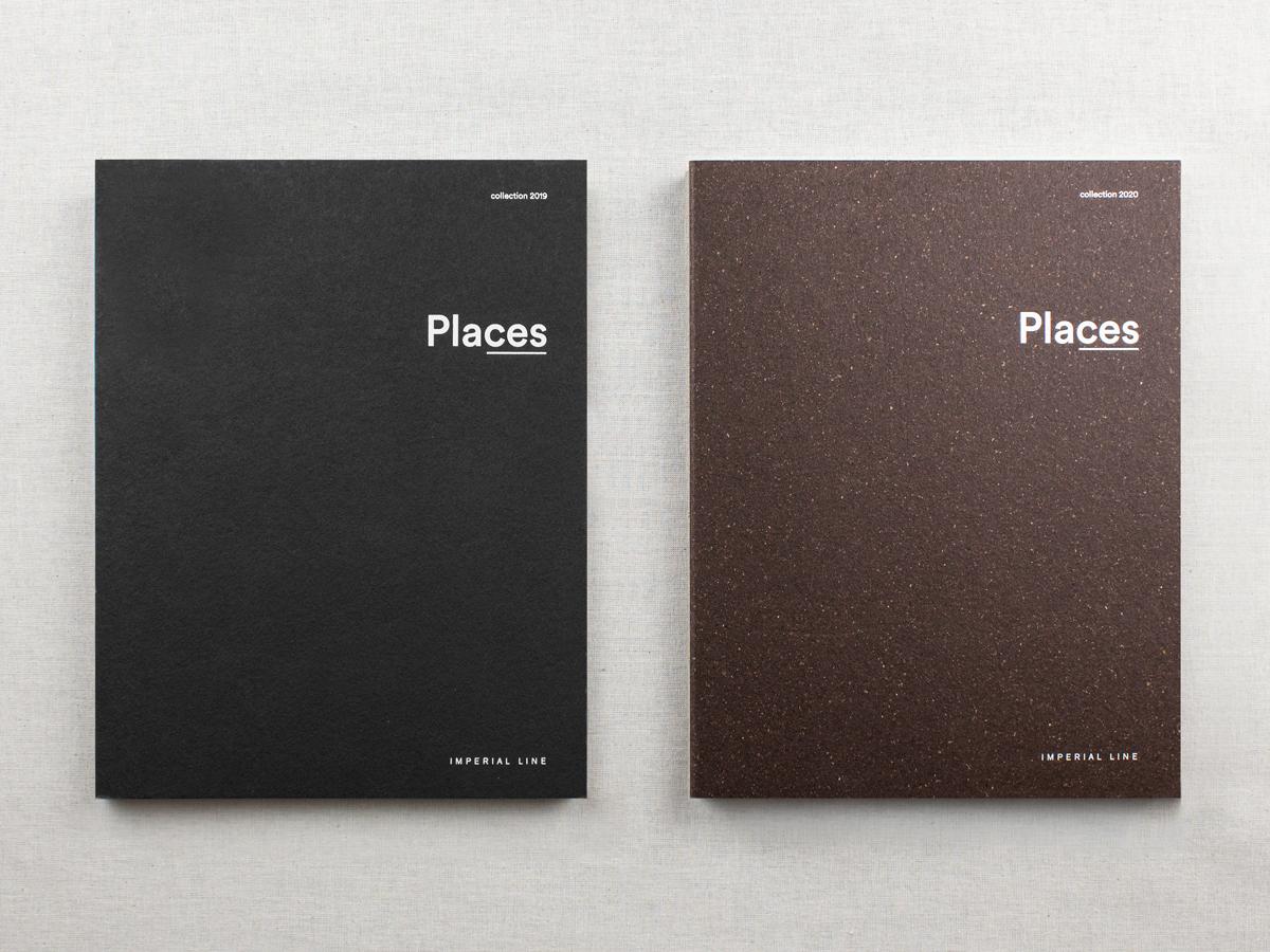 Foto delle copertine di Places 2019 e 2020 uno accanto all'altro