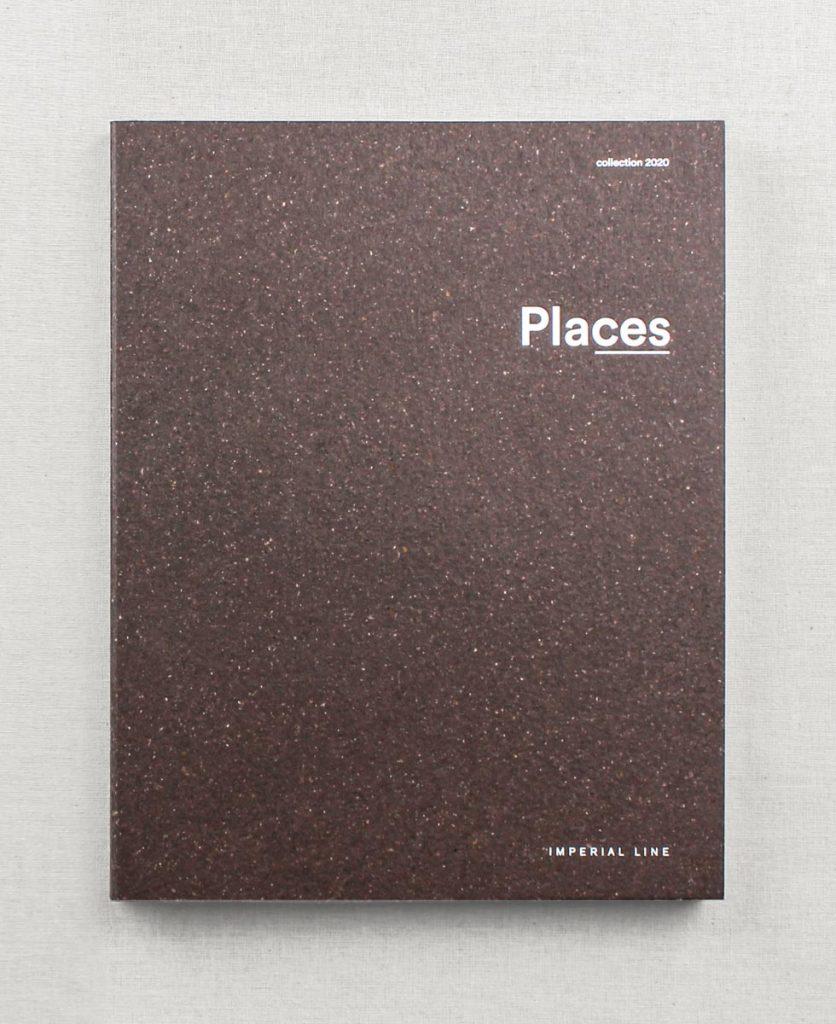 foto zenitale della copertina del catalogo places 2020